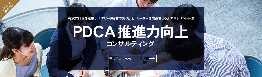 PDCA推進力向上コンサルティング